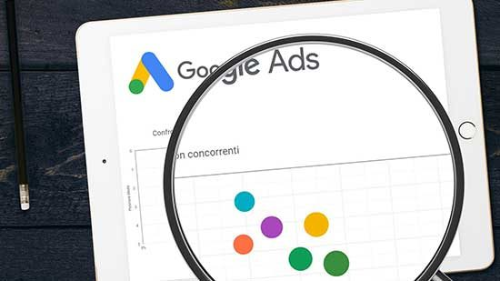 Monitora la concorrenza su Google Ads