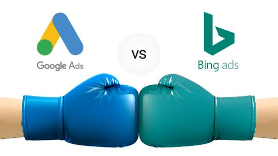 Google Ads VS Bing Ads , chi vince la sfida?