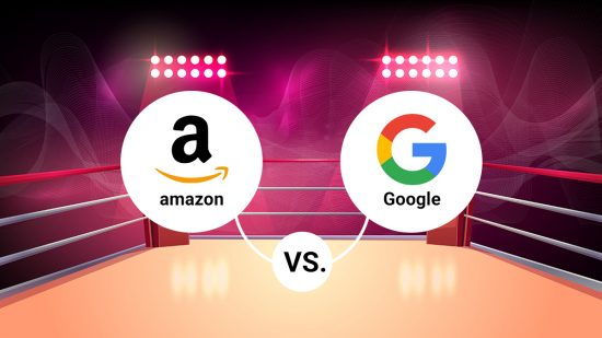 Google VS Amazon: l'eterna sfida di vendita